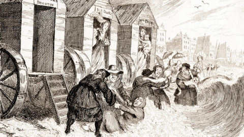 """""""Dippers"""" in Brighton, 1800"""