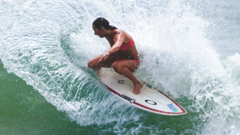 Layne Beachley. Photo: Ruben Pena